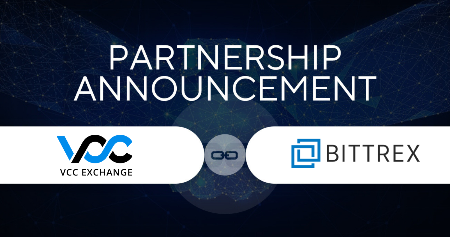 VCC Exchange and Bittrex Jointly Develop Crypto Trading