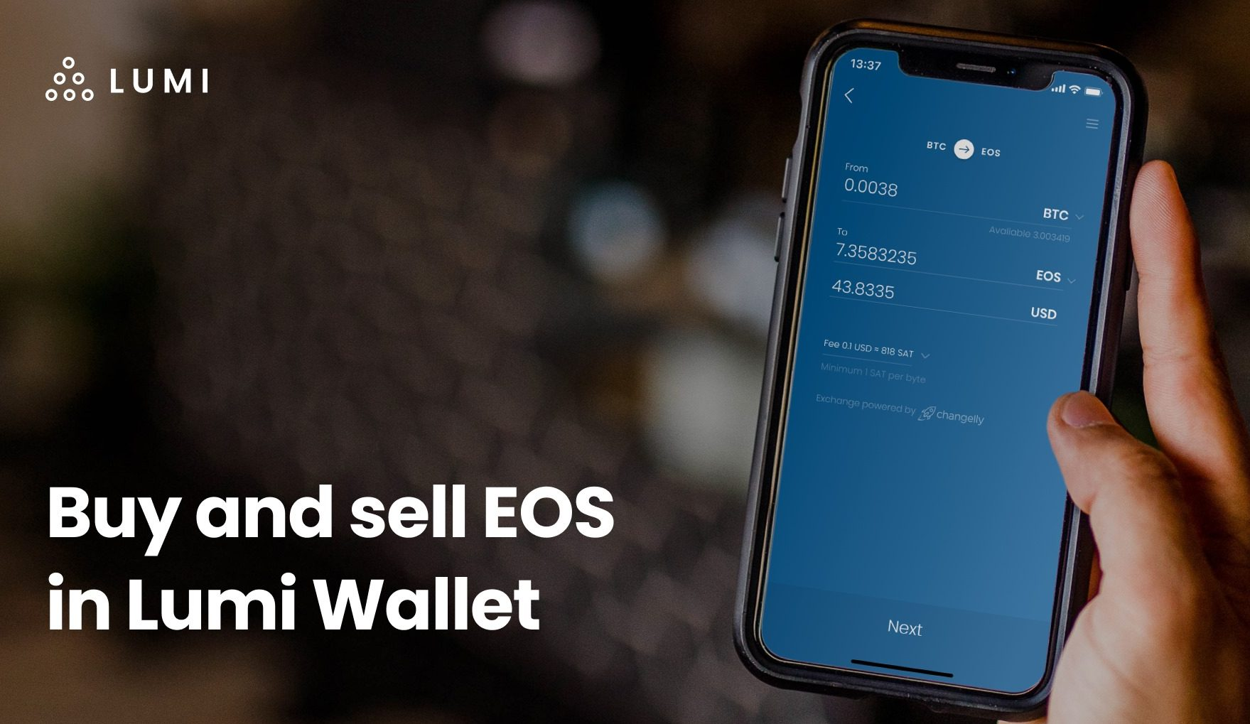 Lumi Wallet Adds EOS Exchange - Asia Blockchain Review