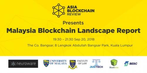 ABR Presents Malaysia Blockchain Landscape Report - 20th September 2018